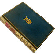 """""""The Savoy Operas"""" Complete Gilbert and Sullivan Operas 1927 Full Leather Gilt Tooled Book MacMillian and Co., London"""