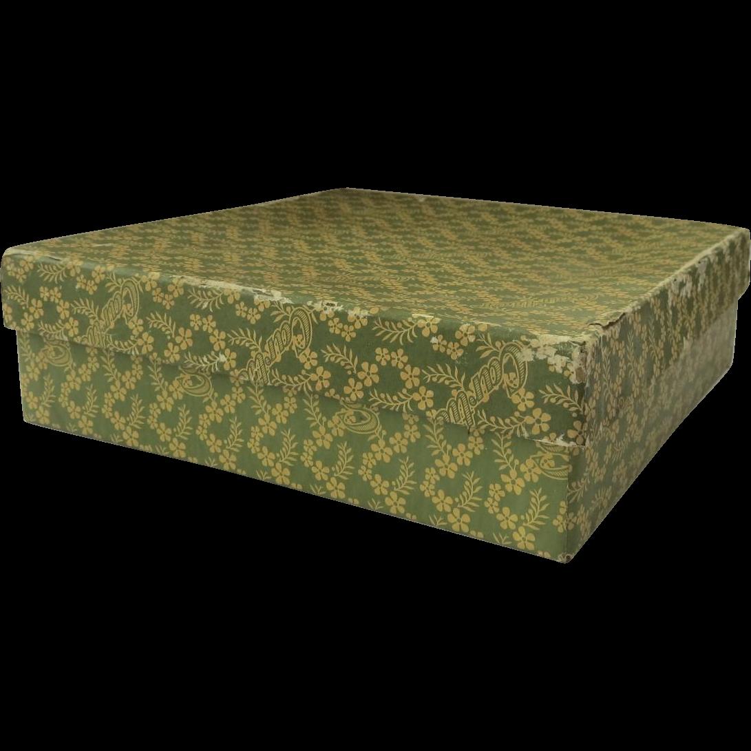 Vintage Cartier Card Paper Empty Box