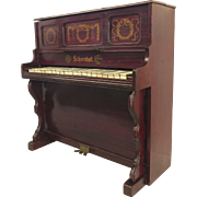 Rare Schoenhut Child's Faux Rosewood Upright Piano 19th Century