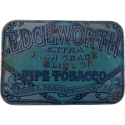 Vintage Advertising Tin Edgeworth Pipe Tobacco Larus & Bro. Co.