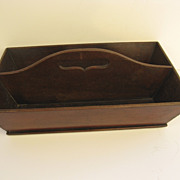 American Two Section Cutlery Box