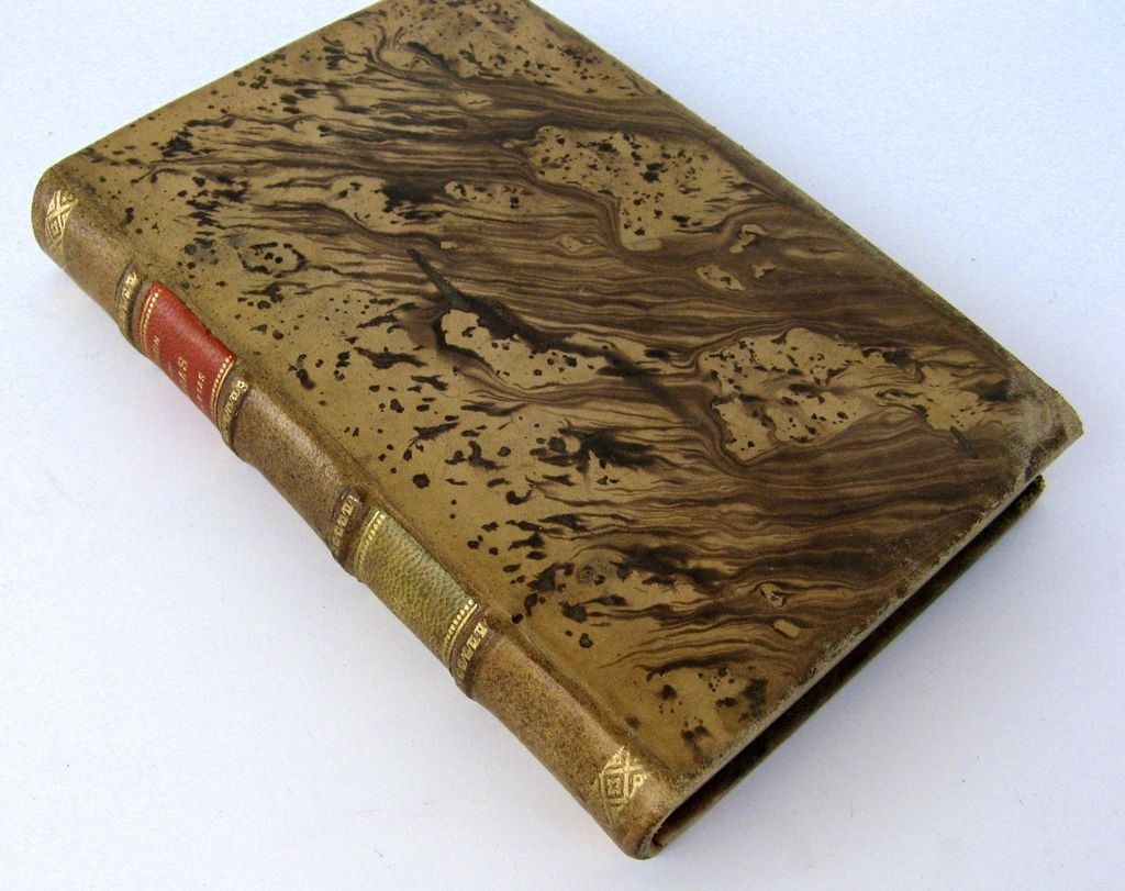 Leather Bound Book Ciceron Obras Completas 1917