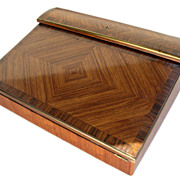English Rosewood Lap Desk