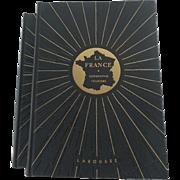Larousse Geographie Tourisme Edited by Daniel Faucher, 1951, 2 Volumes