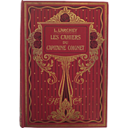 Early 20th Century Les Cahiers du Capitaine Coignet Book Volume 1.
