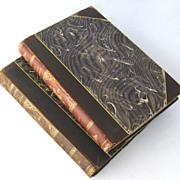 Two Volumes Kings Revenge The Desire of the Moth Leather Bound 1896