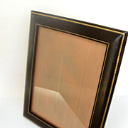 Vintage Leather and Gold Tooled Picture Frame
