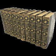 Robert Louis Stevenson Stevenson's Works 10 Volume Set, 1906