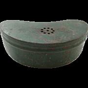 Vintage Painted Metal Bait Box
