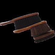 Three Vintage Brushes Brooms Fuller Brush, Bidwells Ltd England, Stanley Wood Handles