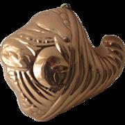 Vintage Copper Food Mold by Benjamin Medwin New York - Douro Cornucopia