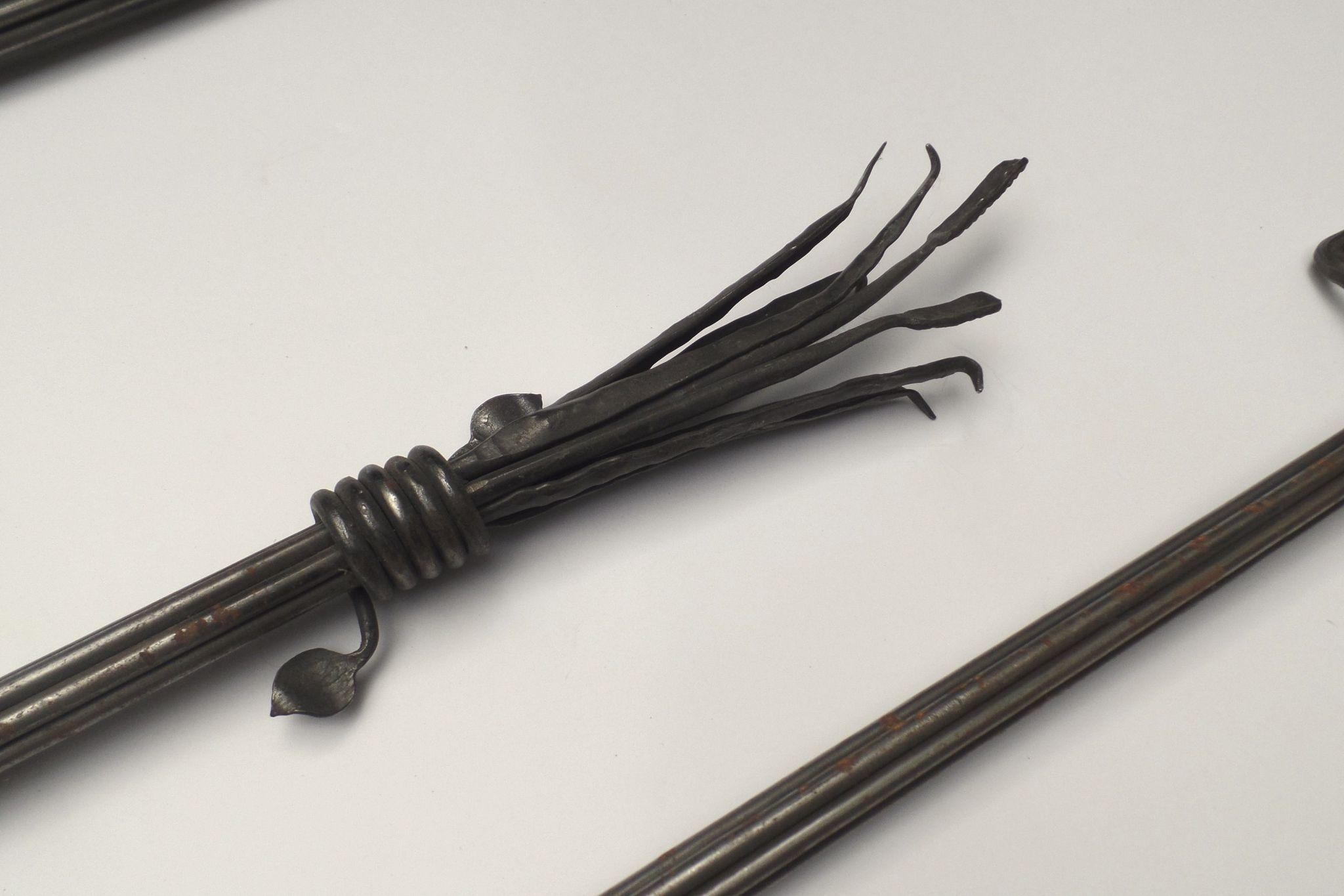 Custom Wrought Iron Curtain Rods Long 123 Quot About 10