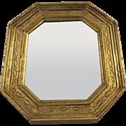 Vintage Florentine Florentia Italy Italian Small Gilt Mirror