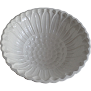 Vintage G.M.T. Co Germany Ironstone Mold Sunflower