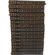 18 Leather Books Collected Novel and Stories of Guy de Maupassant New York Alfred A. Knopf 1927