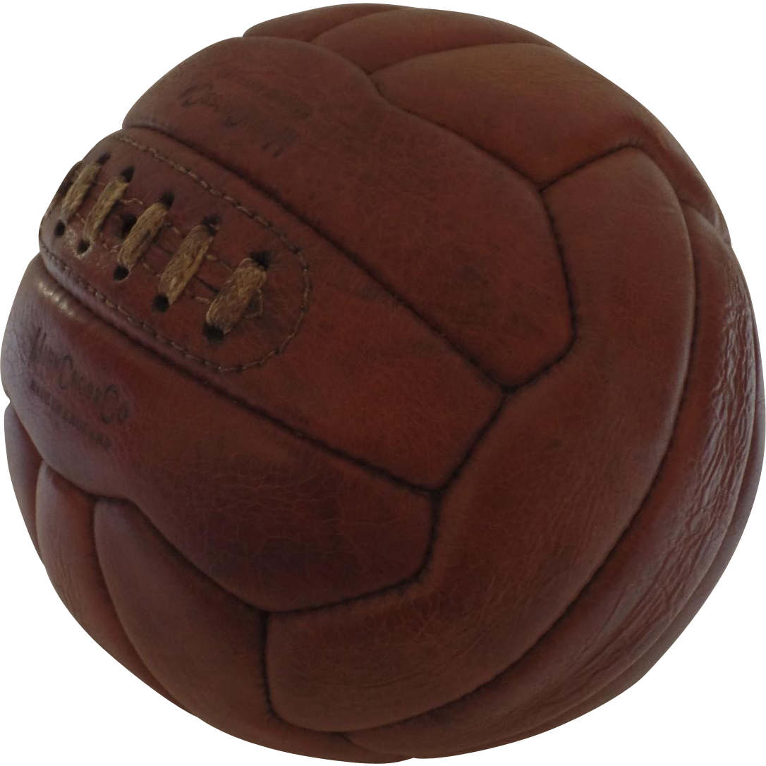 Vintage Mark Cross Made In England Brown Leather Soccer