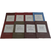 """69 Franklin Library """"NOtes for the Editors"""" in Sleeves"""