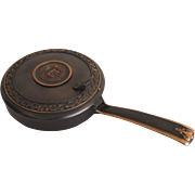 Vintage Yale University Copper Silent Butler Lidded Pan by L. E. Mason Co. Boston, Mass.