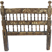 17th Century Spanish Colonial Headboard