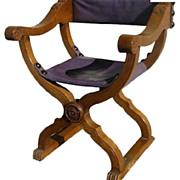 Savonarola Chair Walnut