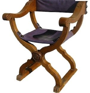 Savonarola Chair Walnut