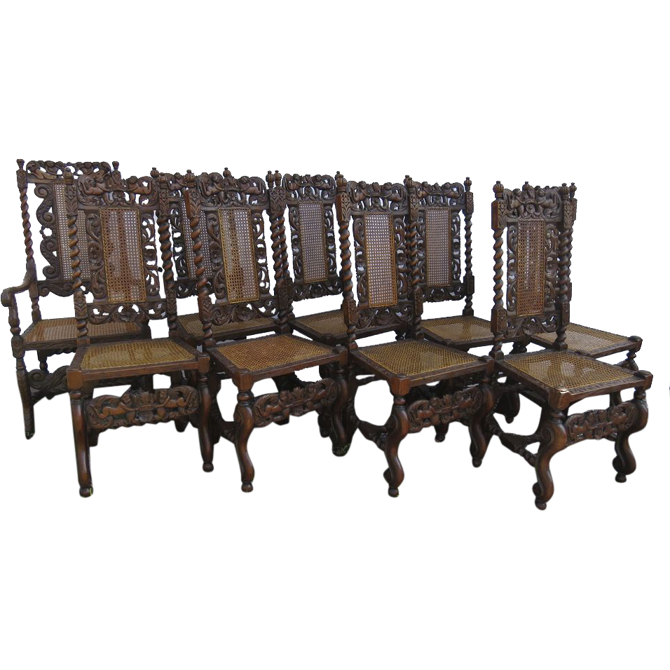 100 Jacobean Dining Room Set Tonawanda Woodworks