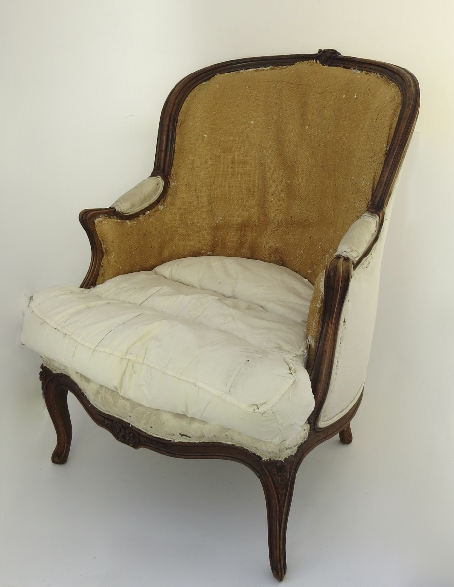 French Louis Xv Style Bergere Chair From Blacktulip On