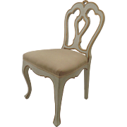 Painted and Gilt Italian Child's Chair