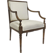English Sheraton Arm Chair.