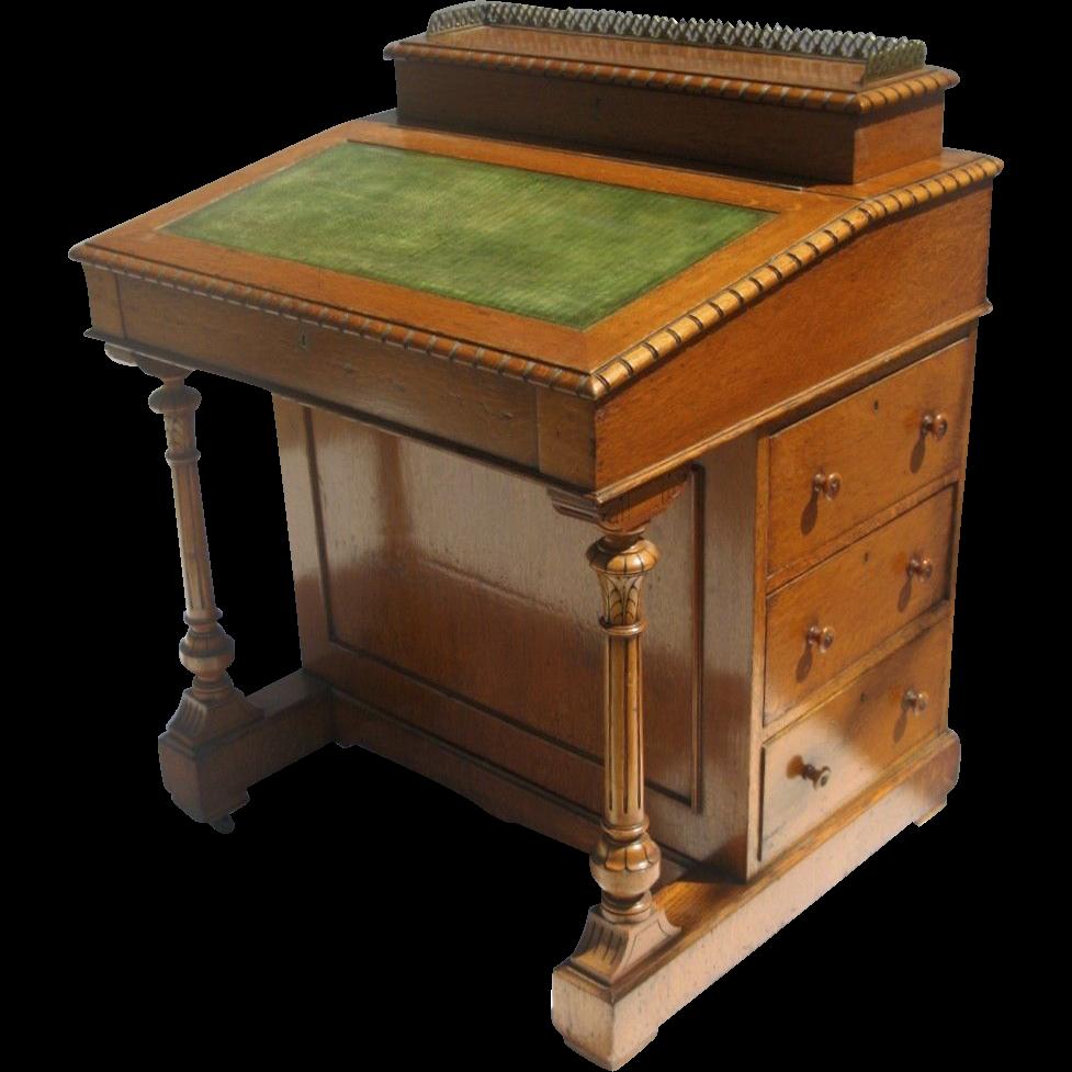 English Davenport Desk c 1860