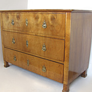 Italian Three Drawer Commode