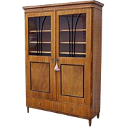 Birch Beidermier Two Door Cabinet Fitted with Shelves.