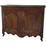 French Fruitwood Buffet 19th Century