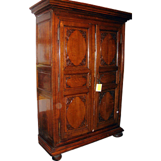 French Regence Armoire Cabinet 18th Century