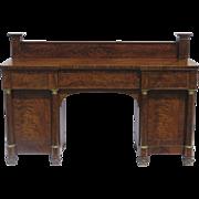 American Mahogany Sideboard Empire c1820
