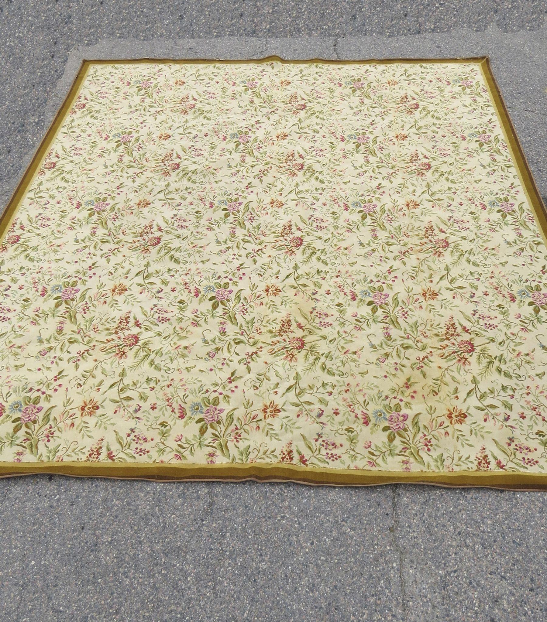Large Mid Century Modern Rug By Stark Carpet From