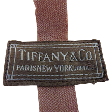 Vintage Paris New York London Tiffany & Co Felt Storage Flatware