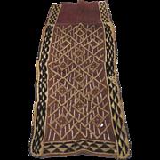 Mid 20th Century Kuba Cloth Dance Skirt Congo Raffia Cloth