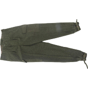 Swedish Military Wool Cargo Pants Unworn