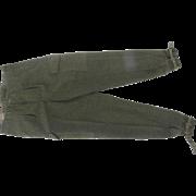 Swedish Military Wool Cargo Pants Unworn