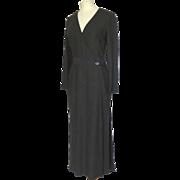 100% Cashmere Chanel Long Sleeve Long Dress