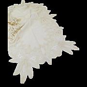 Vintage Lace Table Dollie Runner Linen