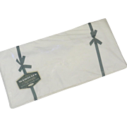 New in Original Packaging Wamsutta 100% Cotton Twin Flat Sheet