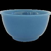 Vintage French Blue Opaline Bowl
