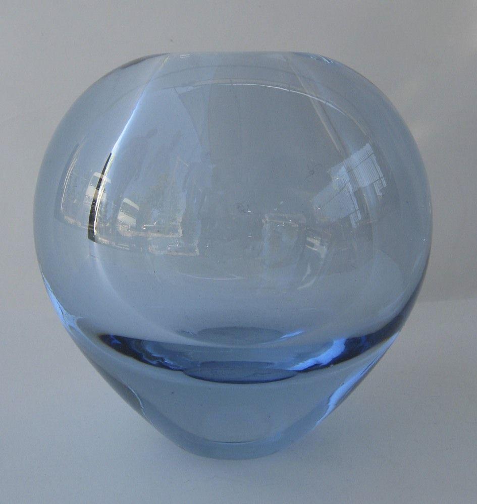Ice blue bowl by Per Lütken for Holmegaard