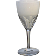 "Vintage Set of 6 (60's) Baccarat Genova 7.5"" Wine Water Crystal Glasses Stems"