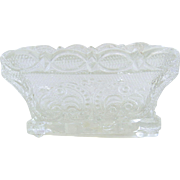 Sandwich Glass Open Salt 19th Century