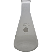 Vintage Pyrex 750ml Flask Laboratory