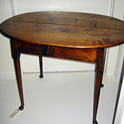 New England Maple Tea Table c 1750