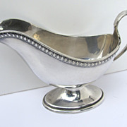 Reed and Barton Silverplate Gravy Sauce Boat
